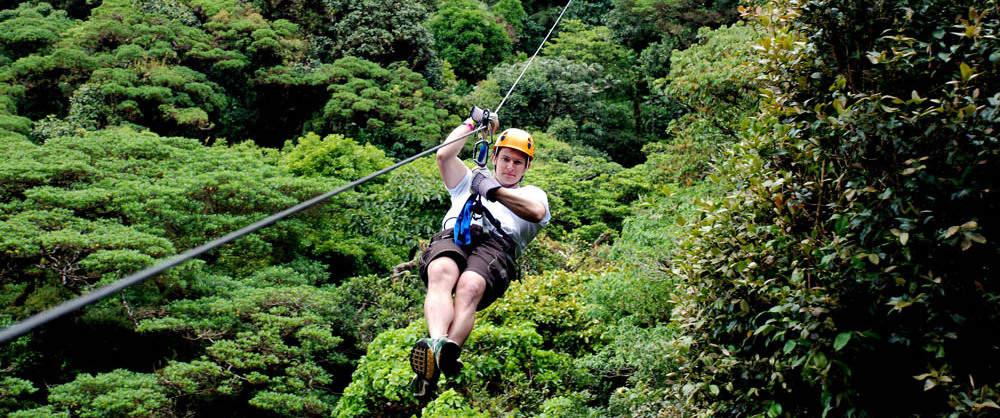 Friday Ziplining Canopy Tour